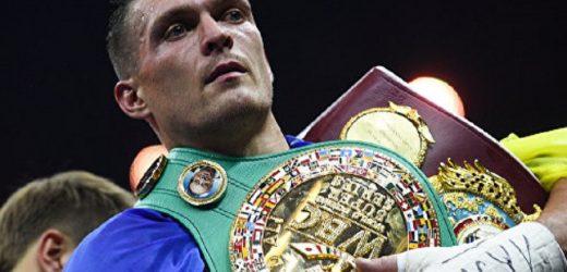 """""""Переведуть у політичну площину"""": Усик відмовився від поєдинків із російськими боксерами"""