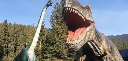 """У Карпатах відкрили унікальний """"Парк динозаврів"""""""