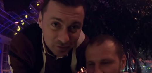 Мілевський показав на відео, як вони відпочивають з Алієвим в Києві