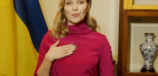 Дружина Зеленського записала відео мовою жестів