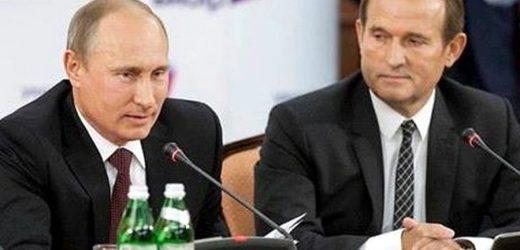 Путін зустрівся з Медведчуком і висунув Україні ультиматум щодо газу