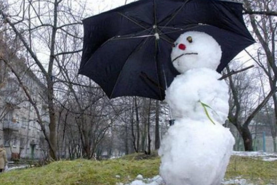 З 16 грудня в Україну прийде аномальне потепління