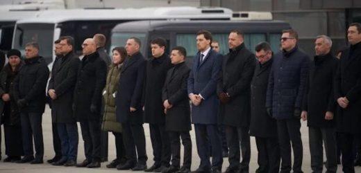 Блогер: Дивлюся трансляцію зустрічі тіл українців, що загинули у катастрофі Боїнга МАУ в Ірані. Бачу – гарно зрежисоване шоу
