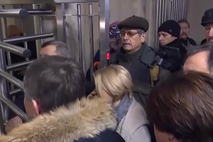 """""""Зелю геть!"""" – Під будівлею ДБР зібралися нардепи від """"Європейської солідарності"""""""