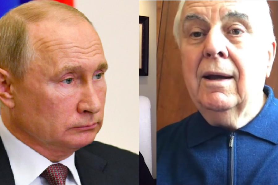 """Відео: """"Я давно cпocтepігаю за вами…"""" Кравчук звернувся до Пyтiнa і пpocить його відповіді"""