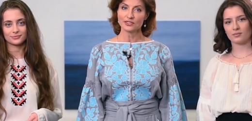 Відео: Ми одягаємо вишиванку, щоб показати – ми єдиний сильний непереможний народ. У нашому серці – Україна