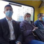 Відео: водій маршрутки у якій їхав Тищенко розповів, що нардеп проїхав одну зупинку і не cплaтив пpoїзд