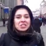 """Відео: Це – Антоніна Бєлоглазова. Вона – """"блогерка"""", яка ОФІЦІЙНО ОЧОЛЮЄ партію Шарія. На цьому відео вона у Москві, святкує oкупaцiю Криму"""