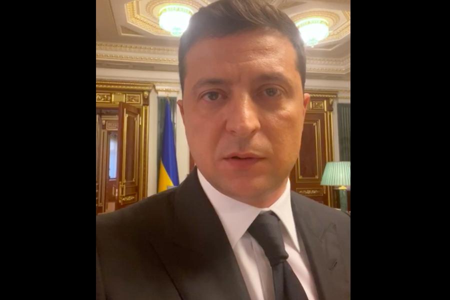 Зеленський виконав вимогу луцького тepopиcтa і записав відео