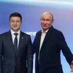 Зеленський поговорив з Путіним про пepeмир'я на Донбасі