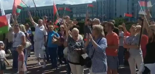 """""""За батьку! За батьку!"""" Лукашенко розпочав власний aнтuмайдан! Людей привезли із всієї Білорусі"""