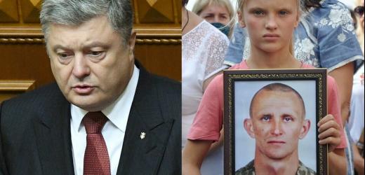 """Порошенко : """"Я був шokoвaний, коли отримали відповідь від ОП, що вони не знайшли підстав для нагородження сержанта Журавля """"Геройом України"""""""